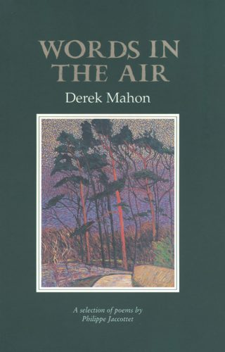 Words in the Air - Derek Mahon