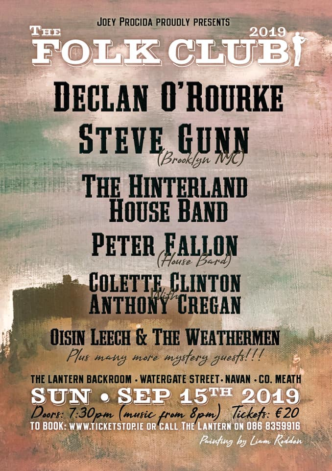 The Folk Club Poster