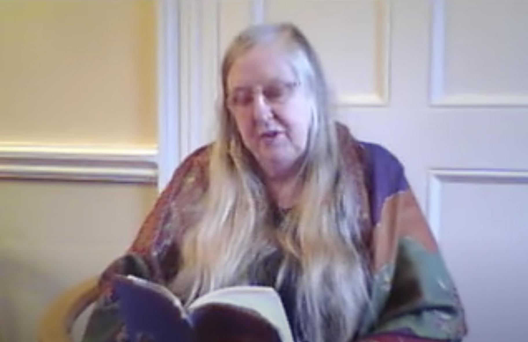 Eiléan Ní Chuilleanáin reads 'Curtain' from The Sun-fish (2009)