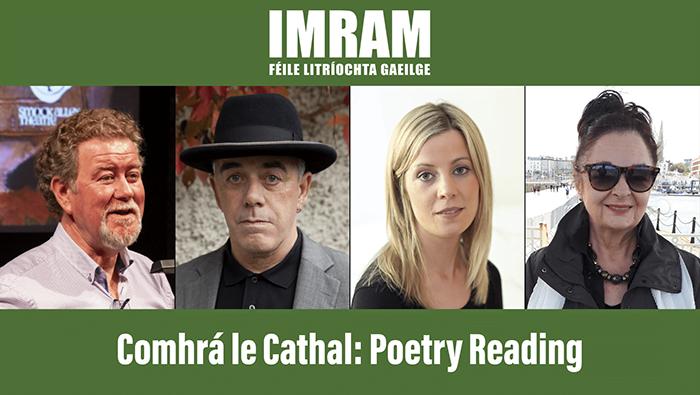 IMRAM Féile Litríochta at Dublin Book Festival