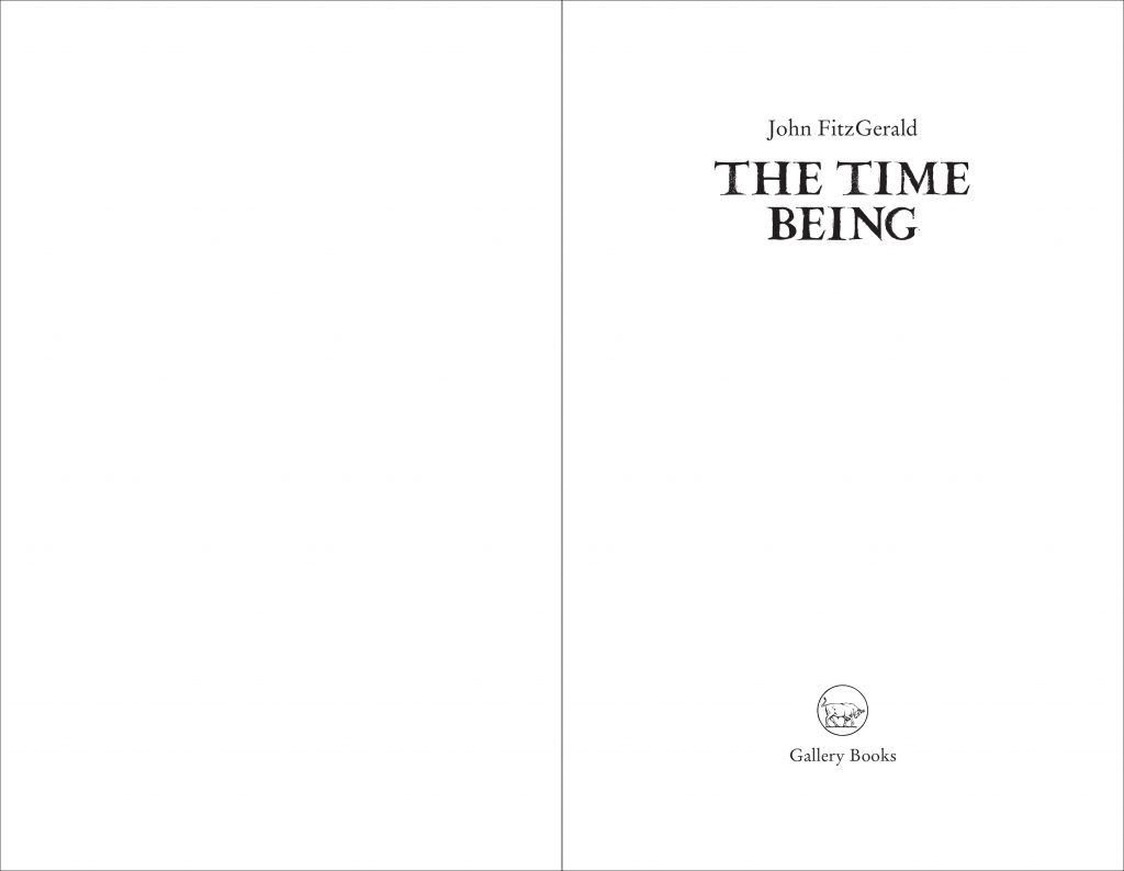 The Time Being Title Page