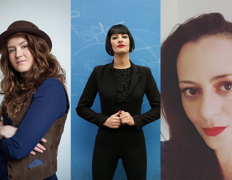 The Lighthouse Project: Laura Sheeran, Dani Gill and Annemarie Ní Churreáin