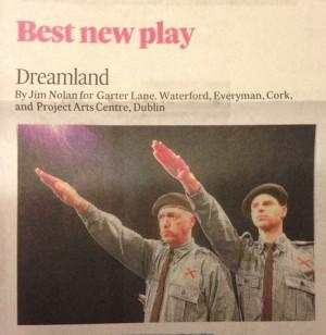 Dreamland Irish Theatre Awards