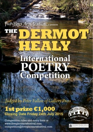 Dermot Healy International Poetry Competition 2015