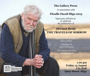 Dermot Healy Book Launch – 14 August
