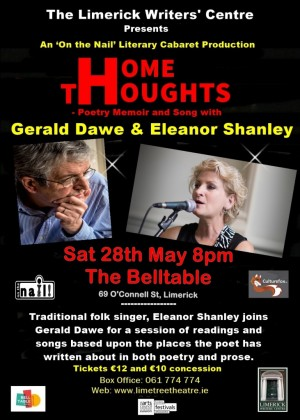 Home Thoughts – Gerald Dawe and Eleanor Shanley – 28 May