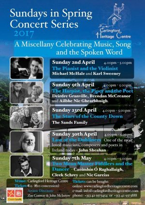 Spring Concert Series, Carlingford Heritage Centre – 9 April