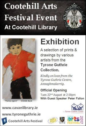 Cootehill Arts Festival: 22 August