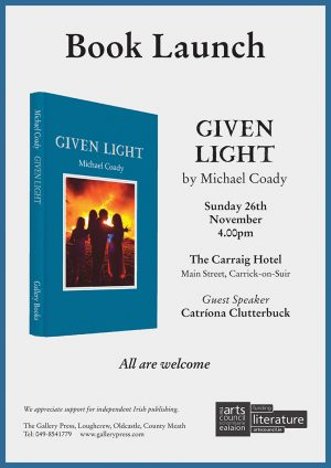 Michael Coady Book Launch: 26 November