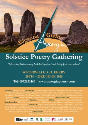 Solstice Poetry Gathering – 20-23 June