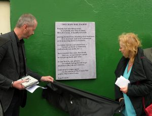 Tom French at Galway Poetry Trail