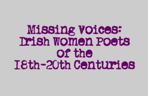 Missing Voices Seminar: 6 October